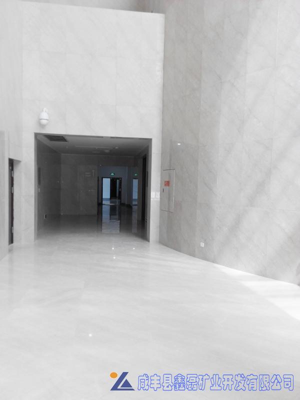 加州米黄大理石,安琪米黄,英啡米黄工程案例——开县博物馆