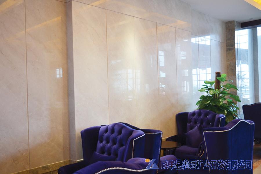 加州米黄大理石,安琪米黄,英啡米黄工程案例——杭州水博园大酒店