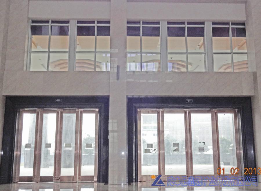 加州米黄大理石,安琪米黄,英啡米黄工程案例——成都二重--中国第二机械总部办公大楼