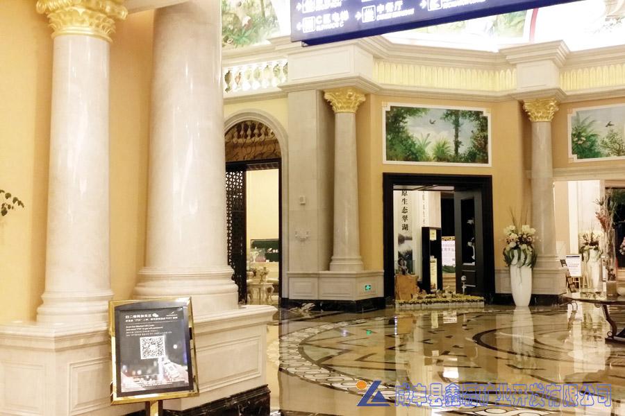 加州米黄大理石,安琪米黄,英啡米黄工程案例——张家界凤凰酒店