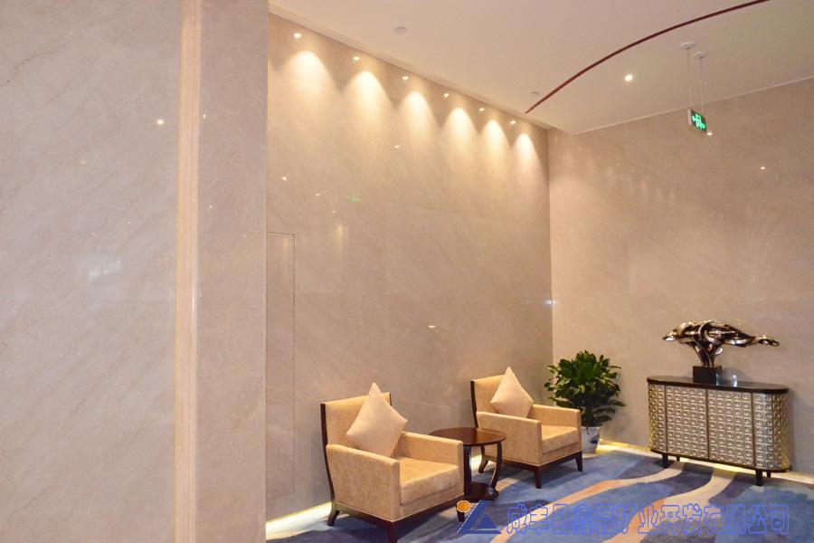 加州米黄大理石,安琪米黄,英啡米黄工程案例——成都百世酒店