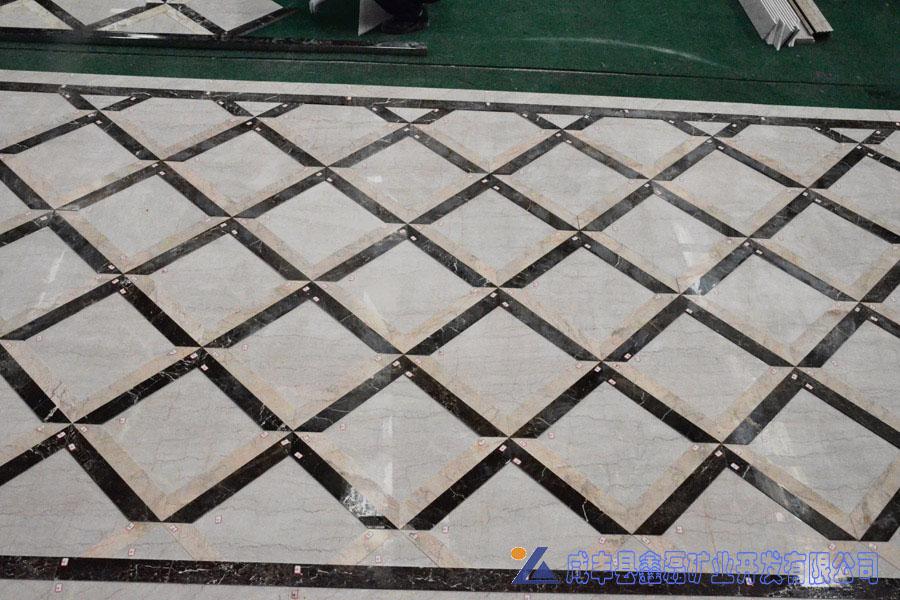 加州米黄大理石,安琪米黄,英啡米黄工程案例——异型,线条,浮雕,拼花