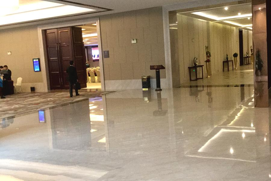 加州米黄大理石,安琪米黄,英啡米黄工程案例——江苏苏州市——吴江宾馆