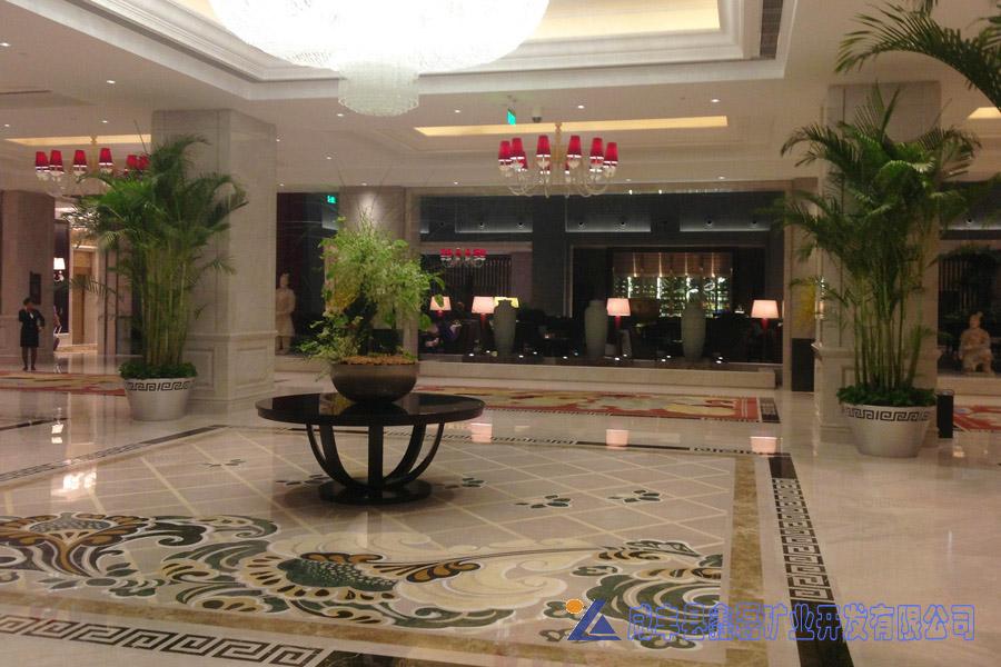 加州米黄大理石,安琪米黄,英啡米黄工程案例——西安豪享来温德姆至尊酒店
